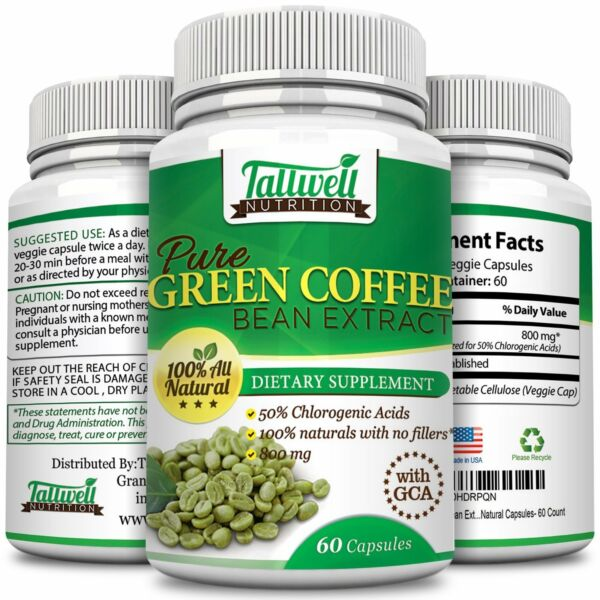 Green Coffee Bean Extract wGCA - Weight Loss Fat Burner Diet Pills ON SALE NOW!