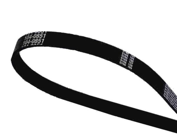 NEW GENUINE OEM TORO PART # 104-0851 DRIVE BELT FOR SNOW COMMANDER SNOWTHROWERS