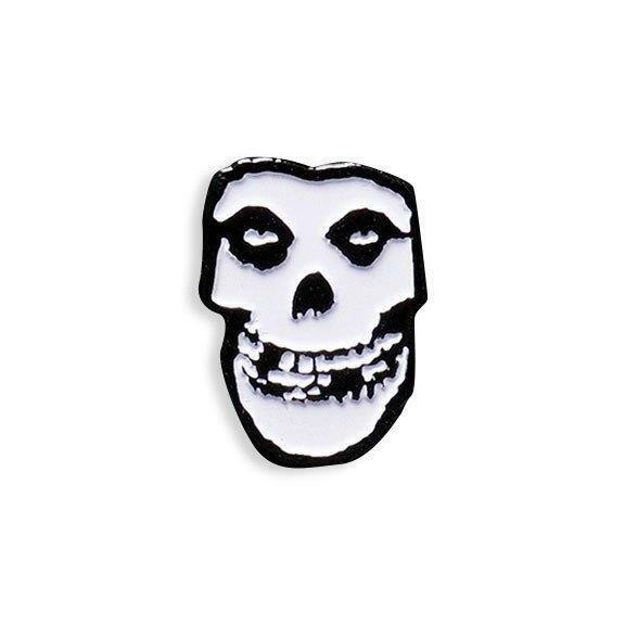 OFFICIAL MISFITS FIEND COLLECTIBLE BLACK METAL PLATED LAPEL PIN BY YESTERDAYS CO