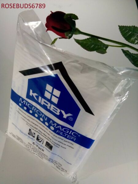 KIRBY VACUUM CLEANER WHITE CLOTH micron magic BAGS UNIVERSAL STYLE
