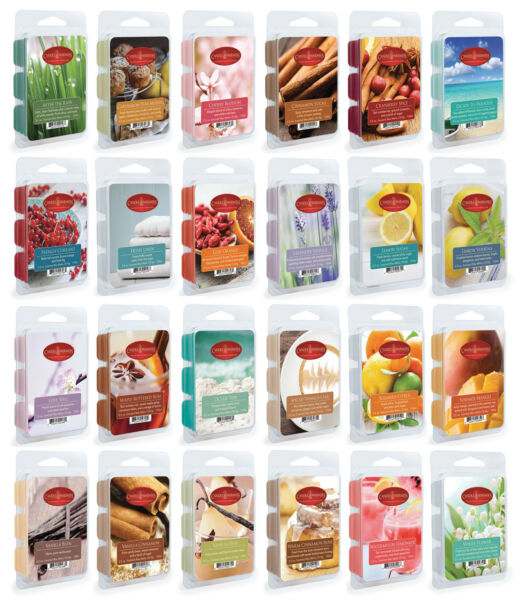Wax Melts Wax Cubes Candle Warmers Scented Fragrances 2.5 oz $6.95