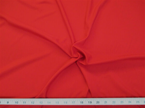Discount Fabric Cotton Blend Red Lining Material CB18