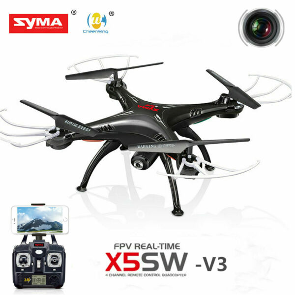 Syma X5SW-V3 Explorers 2.4G RC Headless Quadcopter 2MP HD Wifi Camera FPV drone