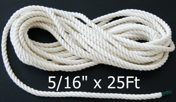 Twisted Cotton Rope 5 16quot; for bird parrot toys Amazon African Grey Cackatoo