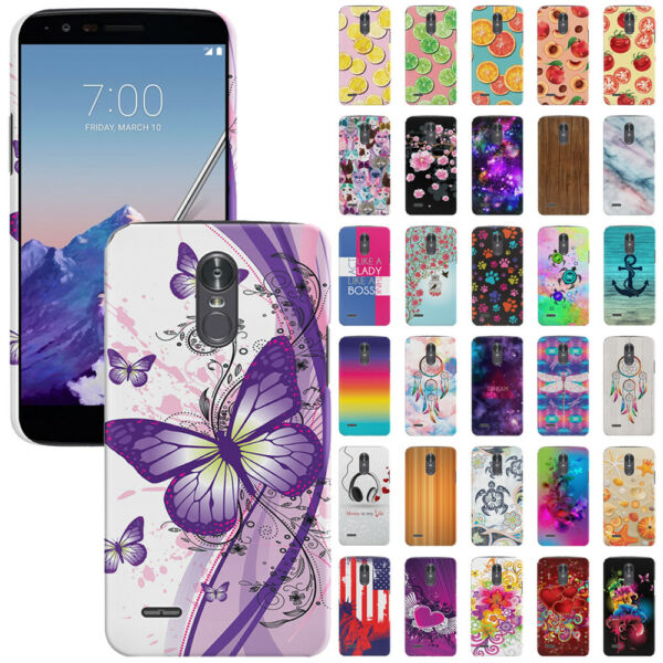For LG Stylo 3 Plus/ Stylus 3/ Stylo 3 LS777 Protector Hard Back Case Cover