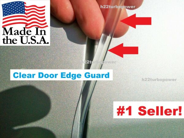 TRIM PROTECTOR 4 FEET (made in the USA!) CAR TRUCK SUV CLEAR DOOR EDGE GUARDS
