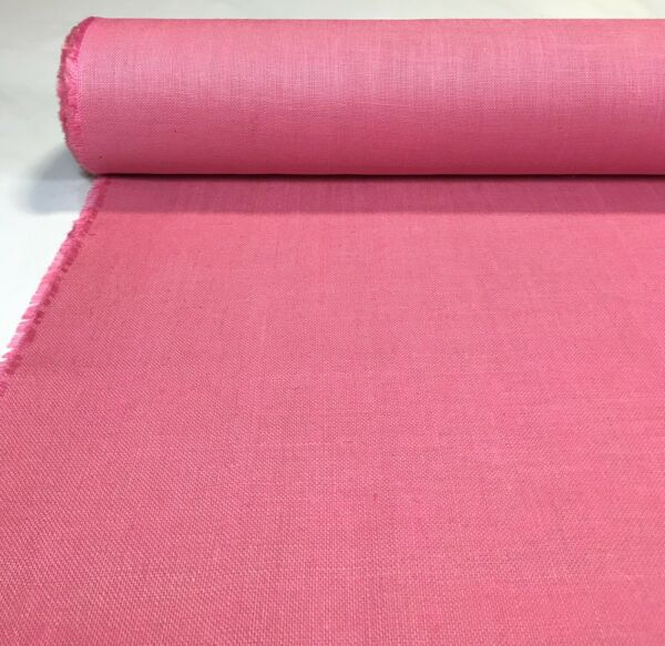 Jute Burlap Fabric Rose Pink 58quot; Wide 11 OZ Premium 100% Upholstery By The Yard