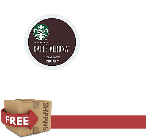KEURIG K-CUPS Starbucks Coffee CAFFE VERONA 216 count