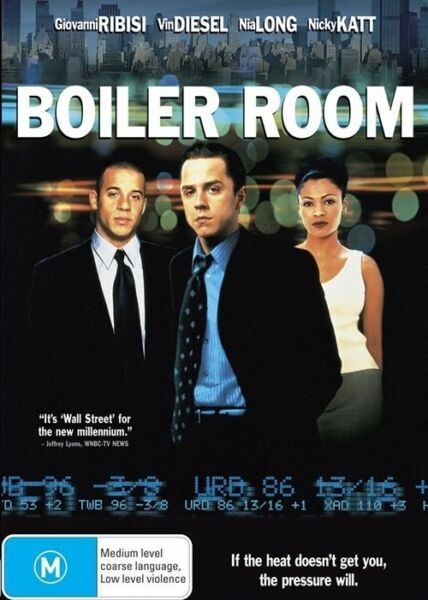 Boiler Room NEW R4 DVD