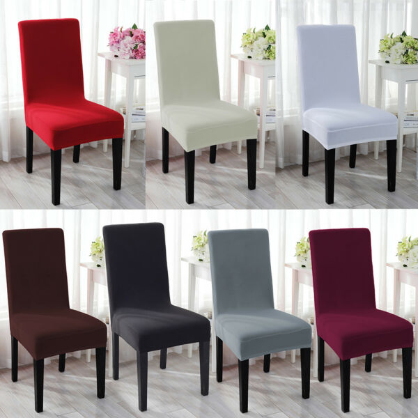Spandex Stretch Wedding Banquet Chair Cover Party Decor Dining Room Seat Cover $15.97