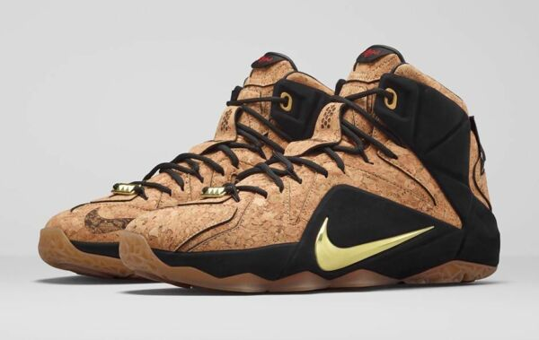Nike LeBron 12 XII EXT King's Cork Size 11. 768829-100 kyrie bhm what the wheat