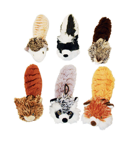 MultiPet For Dog Bouncy Burrow Buddies Plush Dog Toy 8 in. L