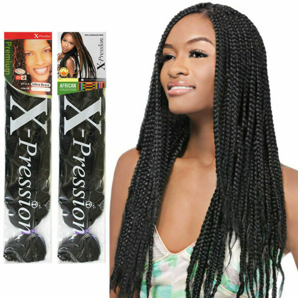 X pression Xpression Expression 82quot; Ultra Braiding Hair