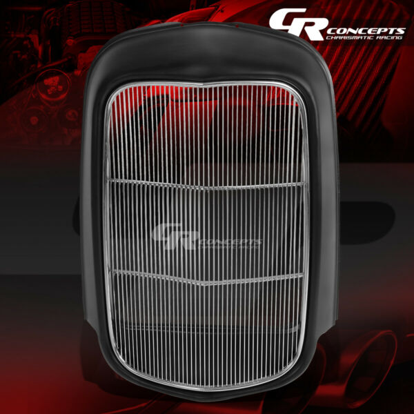 ORIGINAL STYLE FRONT GRILLE SHELLSTAINLESS GRILL INSERT FOR 1932 MODEL B BB 18