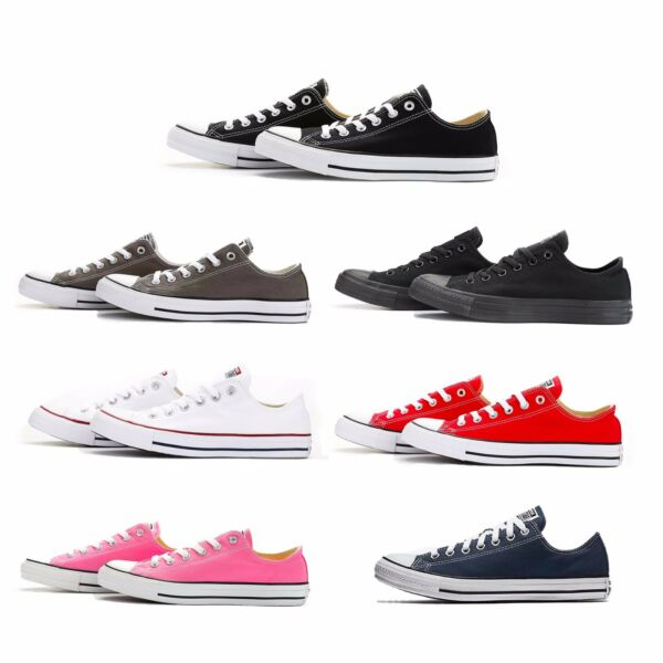 Converse Chuck Taylor All Star Ox Low Top Shoe Men Women Unisex Canvas 7 colors