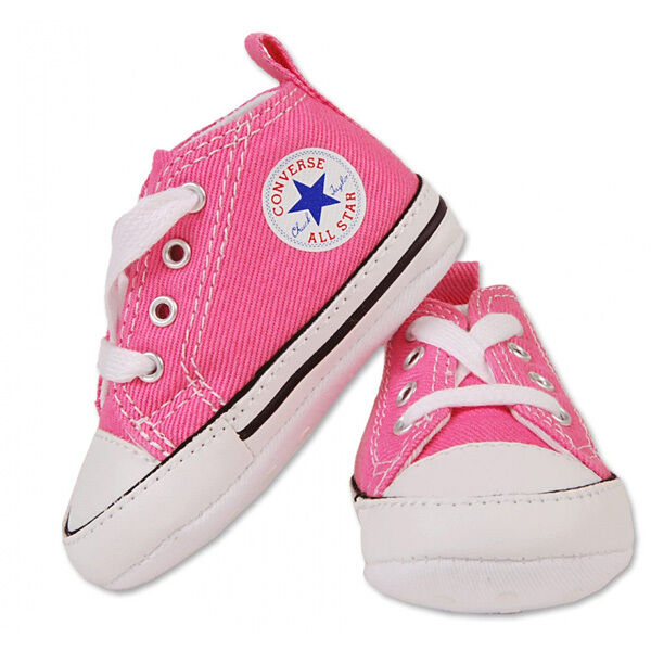 Converse All Star Chuck Soft Bottom 88871 Pink New Born Baby Shoes