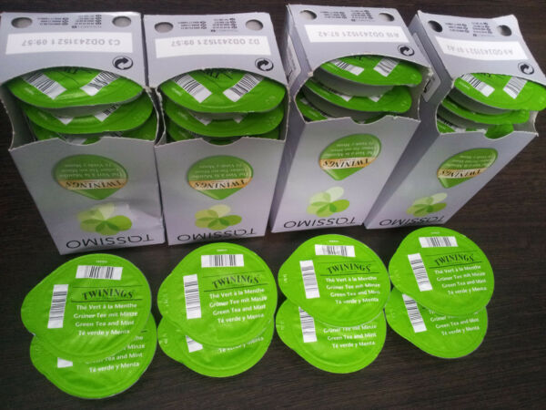 Tassimo Twinings Green Tea and Mint - (Alluvial Deposit 50 T Disc  Servings)