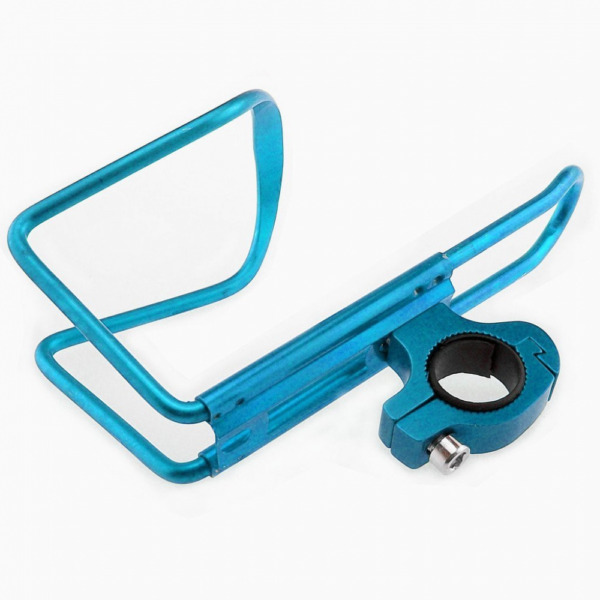 Alloy Bicycle Bike Water Bottle Cage Holder For Sports Mountain Lightweight Blue $6.11