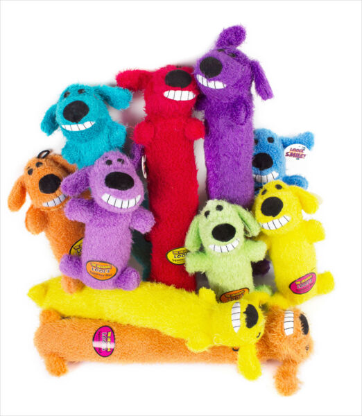 Multipet  Loofa dog toy 12