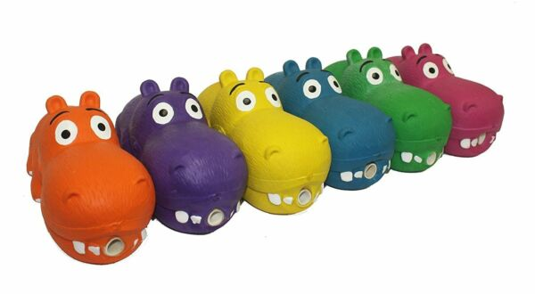 Multipet Latex Hippo Dog Toy Color Varies    (Free Shipping) $11.95