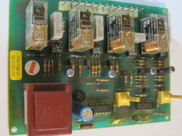 WITTENBORG PW-108 CIRCUIT BOARD FOR FB-500 OFFICE COFFEE MACHINE