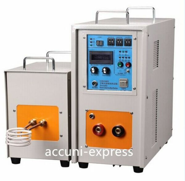 25KW 30-80KHz Dual Station High Frequency Induction Heater Furnace LH-25AB a