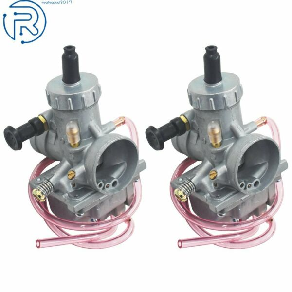 1987 2006 Two Carburetors For Yamaha Banshee YFZ350 ATV Carbs 29mm $43.79