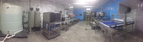Complete 1 & 5 Gallon Purified Water Bottling Filing & Packaging Line