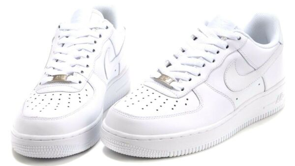 Nike Air Force 1 One All White 315122-111 Original Shoes Men