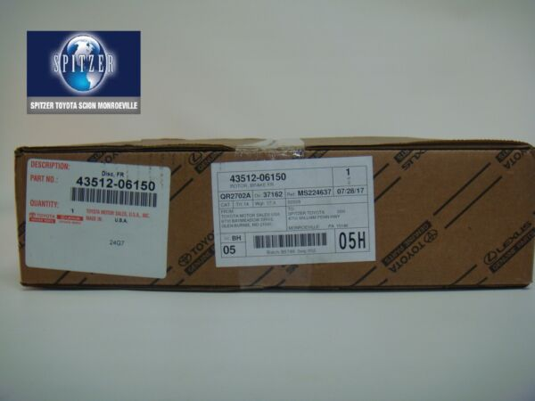 TOYOTA OEM Front Brake-Disc Rotor 4351206150, CAMRY/AVALON(NOT SOLD IN PAIRS)