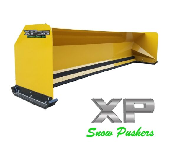 14' XP36 Snow pusher box backhoe loader snow plow Express Steel LOCAL PICK UP