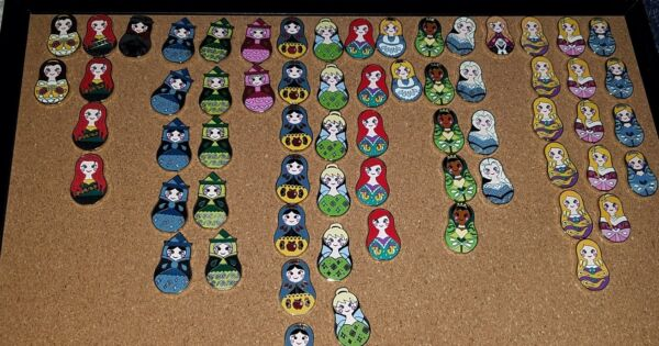 Disney Trading Pins Lot of 15 AUTHENTIC Pins FREE SHIP  LK