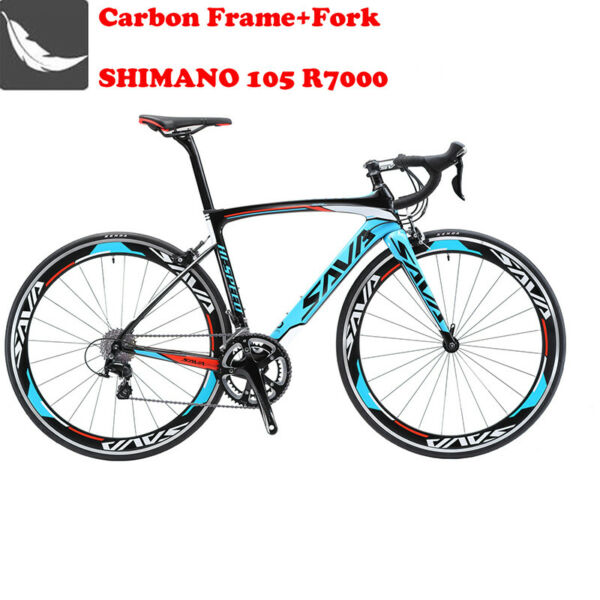 SAVA Warwind5.0 Carbon Road bike 700C Carbon Bicycle with Shimano 105 R7000 22S