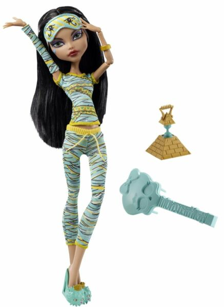 Monster High Dead Tired Cleo De Nile Doll - NEW & SEALED!