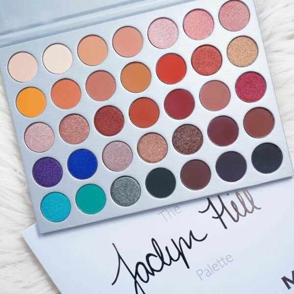 New 2017💝Limited Edition Jaclyn Hill x Morphe 35 Colors Eye shadow Palette🇺🇸