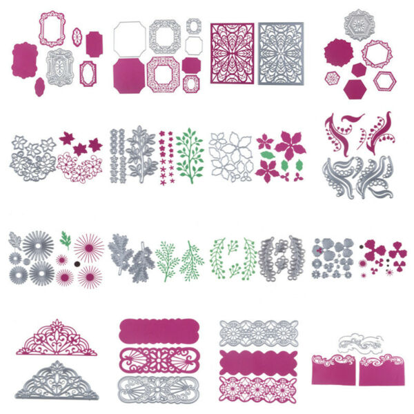 Metal Dies Cutting Dies Stencils Scrapbooking Album Paper Card Xmas Decor Crafts