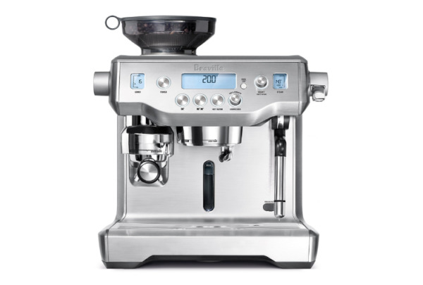 Breville Oracle BES980XL Professional Espresso Machine for Coffee Shop Silver