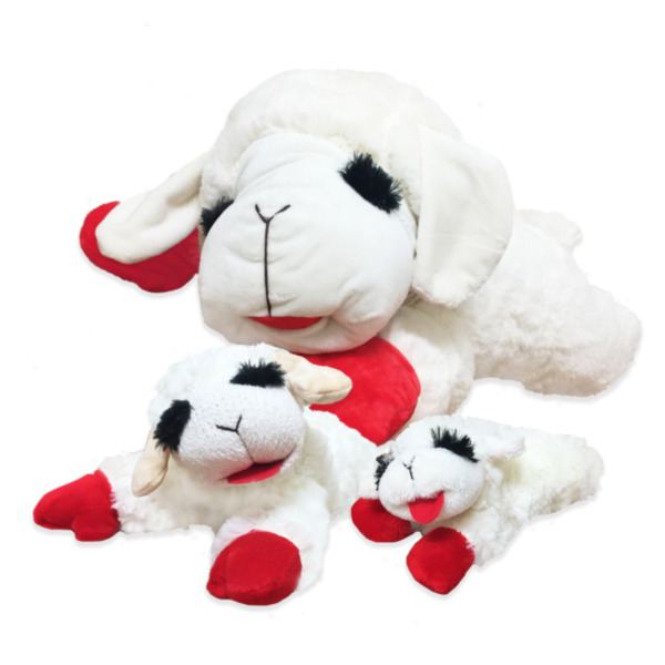 Multipet Lambchop Toy Asst Size (Free Shipping)