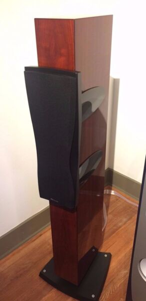 Dynaudio Confidence C2 MKII Excellent Cond. with Wood Crate - Glass Rosewood