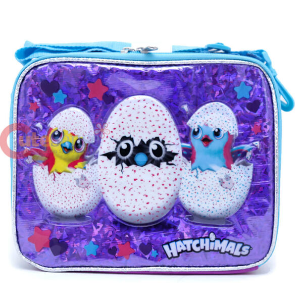 Hatchimals School Lunch Bag Insulated Pail Box Snack Bag Licensed