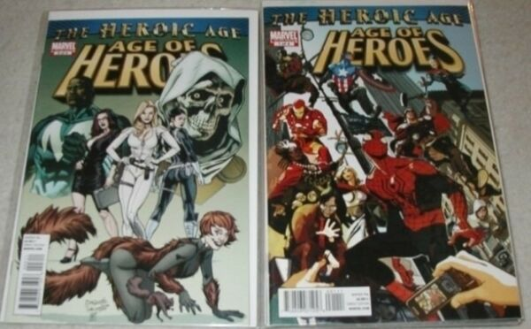 Age of Heroes U-PICK ONE #1 2 3 & 4 Marvel Issues PRICED PER COMIC