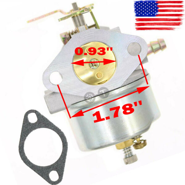 New Adjustable Carburetor for Tecumseh HMSK80 HMSK90 LH318SA LH358SA Snowblower