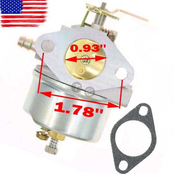 Adjustable Carburetor For Tecumseh 8HP 9HP 10HP Snowblower 640349 640052 640054 $10.88