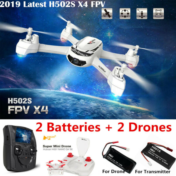 Hubsan H502S X4 Drone 5.8G FPV RC Quadcopter 720P HD Headless Altitude GPS RTH