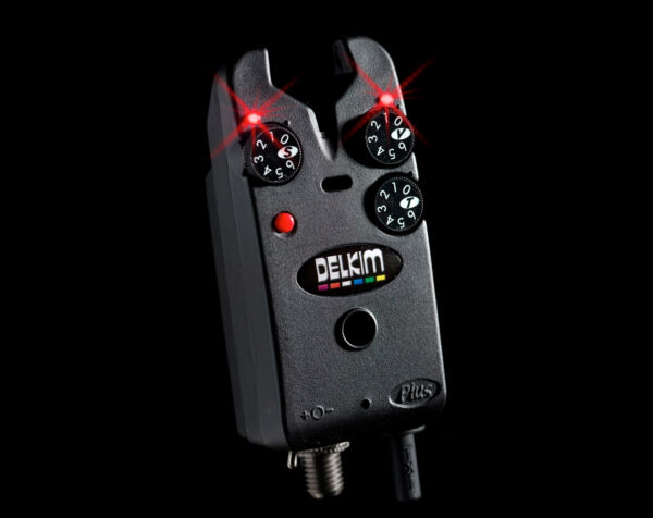 Delkim Tx-i Plus Electronic Bite Alarm - Red / TXI Indicator / Carp Fishing