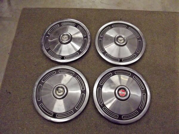 1974 74 Ford Mustang Hubcaps Wheel Covers 13