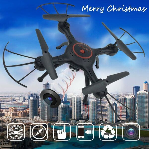 X5UW 2.4G Wifi FPV RC Quadcopter Remote Control HD Camera Drone Helicopter HM