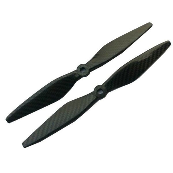 For RC Quadcopter Hexacopter Multi rotor 10x3.8 3K Carbon Fiber Propeller CW CCW
