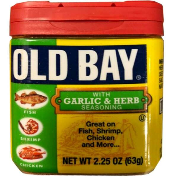 McCormick Old Bay With Garlic and Herb Seasoning - 2.25 Oz - Pack of 1