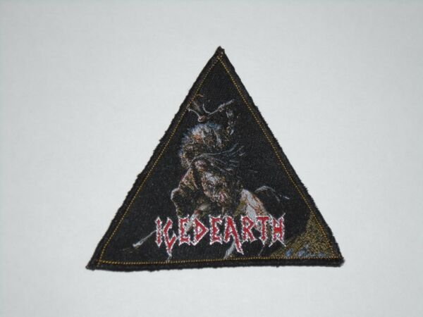 ICED EARTH WOVEN PATCH